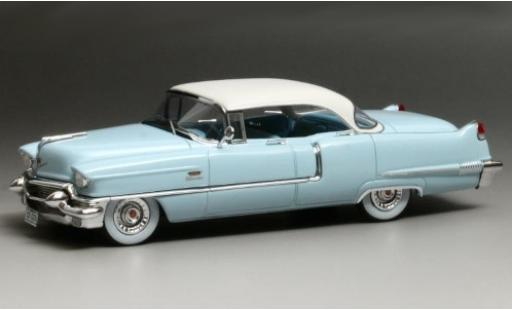 Cadillac Series 62 1/43 GIM   Great Iconic Models Sedan de Ville bleue/blanche 1956 miniature