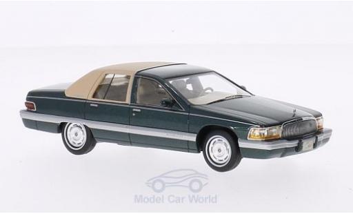 Buick Roadmaster 1/43 GLM dunkelgrün/beige 1994 miniature