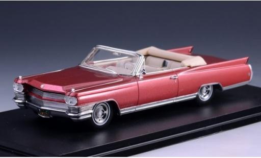 Cadillac Eldorado 1/43 GLM Convertible metallise rouge 1964 miniature