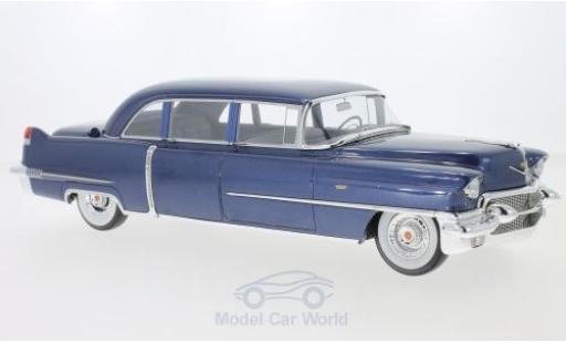 Cadillac Fleetwood 1/18 GLM Series 75 metallise bleue 1956 miniature