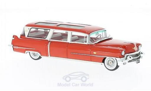 Cadillac S & S 1/43 GLM Broadmoor Skyview rouge 1956 miniature