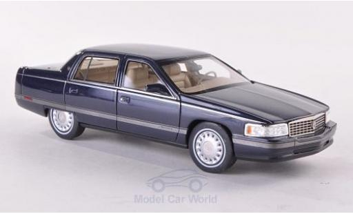 Cadillac Sedan 1/43 GLM DeVille metallise bleue 1994 miniature