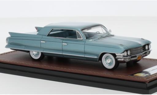 Cadillac Sedan 1/43 GLM DeVille metallise turquoise 1962 miniature