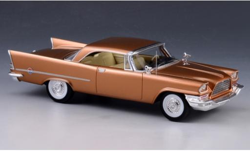 Chrysler 300C 1/43 GLM Hardtop gold 1957 miniature