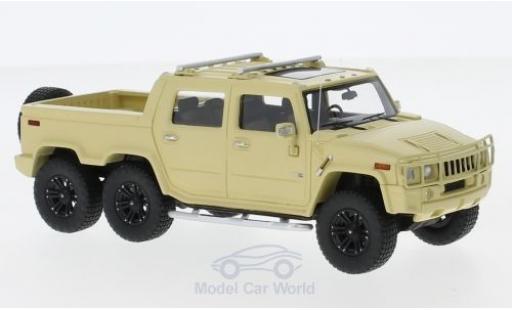 Hummer H2 1/43 GLM SUT 6 matt-beige 2012 miniature