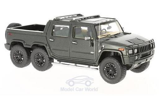 Hummer H2 1/43 GLM SUT 6 matt-dunkelgrün 2012 miniature