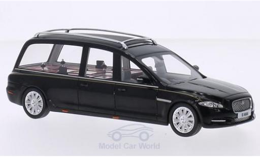 Jaguar XJ 1/43 GLM (X351) Hearse Wilcox black 2013 diecast model cars