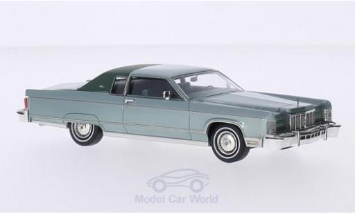 Lincoln Continental 1/43 GLM metallise verte/matt-verte miniature