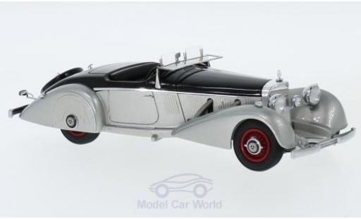 Mercedes 540 1/43 GLM K Spezialroadster Mayfair grise/noire 1937 miniature