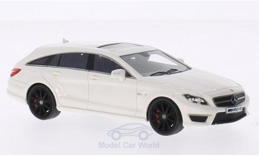 Mercedes CLS 1/43 GLM 63 Shooting Brake S-Model blanche miniature