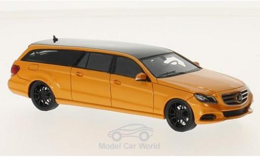 Mercedes Classe E 1/43 GLM (S212) Binz Estate Limousine metallise orange/noire 2015 miniature