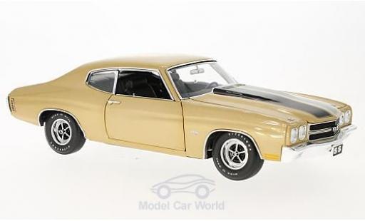 Chevrolet Chevelle 1970 1/18 GMP ACME SS 396 gold miniature