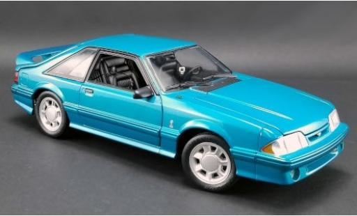 Ford Mustang 1/18 GMP Cobra bleue 1993 miniature