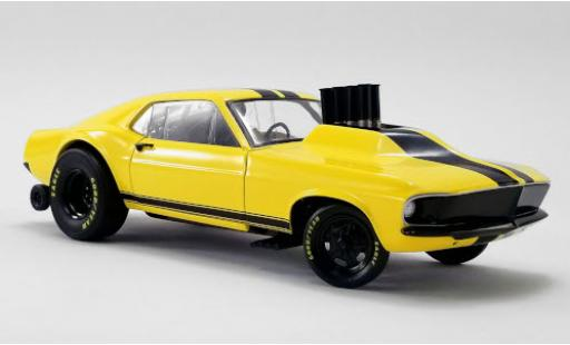 Ford Mustang 1/18 GMP Gasser Stinger yellow/black 1969 diecast model cars