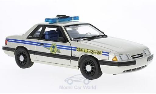 Ford Mustang 1/18 GMP South Carolina Highway Patrol SSP 1991 miniature