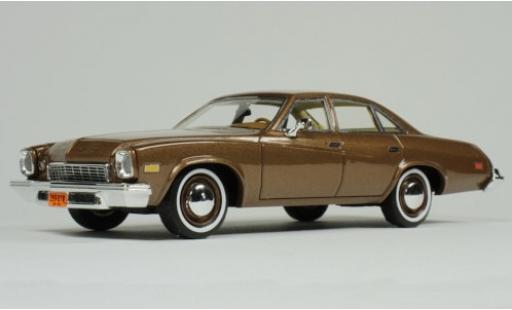 Buick Century 1/43 Goldvarg Collections metallise marron 1974 miniature