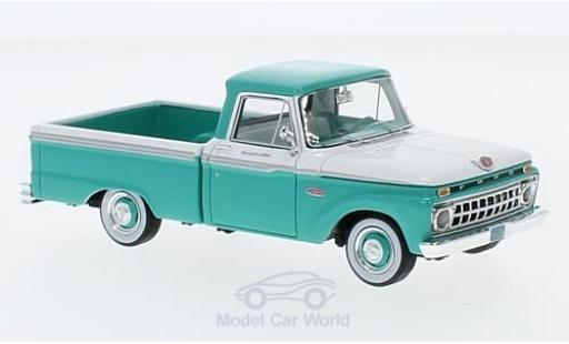 Ford F-1 1/43 Goldvarg Collections 00 Pick Up turquoise/blanche 1965 miniature
