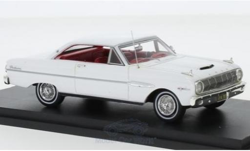 Ford Falcon 1/43 Goldvarg Collections Sprint blanche 1963 miniature