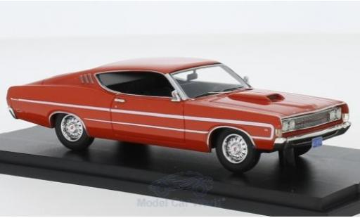 Ford Torino 1/43 Goldvarg Collections orange 1969 miniature