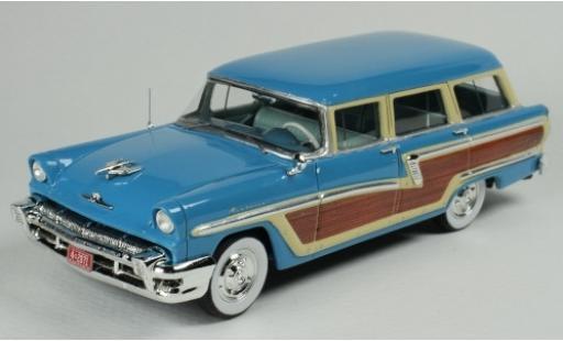 Mercury Monterey 1/43 Goldvarg Collections Station Wagon bleue/Holzoptik 1956 miniature