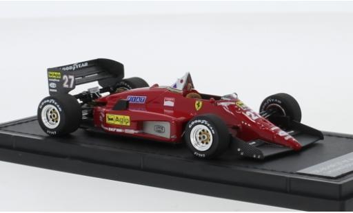 Ferrari 156 1/43 GP Replicas /85 No.27 Scuderia Formel 1 1987 M.Alboreto coche miniatura