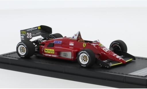Ferrari 156 1/43 GP Replicas /85 No.28 Scuderia Formel 1 1987 R.Arnoux coche miniatura