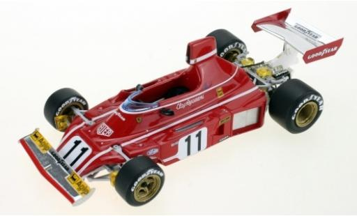 Ferrari 312 1/43 GP Replicas B3 No.11 Scuderia Formel 1 1974 C.Regazzoni diecast model cars