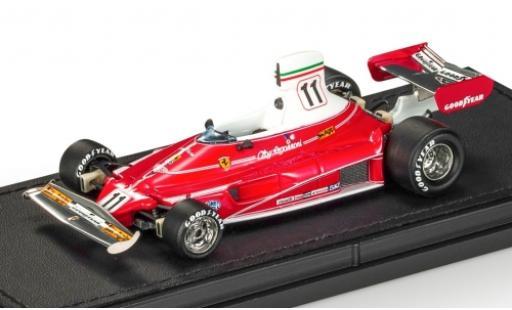 Ferrari 312 1/43 GP Replicas T No.11 Scuderia Formel 1 1975 C.Regazzoni coche miniatura