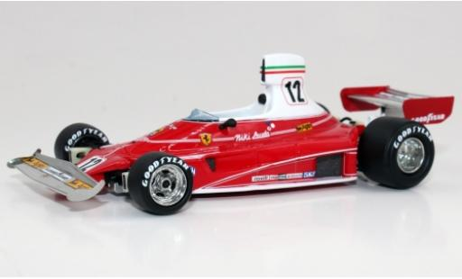 Ferrari 312 1/43 GP Replicas T No.12 Scuderia Formel 1 1975 N.Lauda coche miniatura