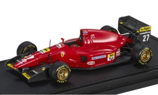 Ferrari 412 1/43 GP Replicas T1 No.27 Scuderia Formel 1 1994 J.Alesi coche miniatura