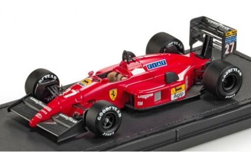 Ferrari F1 1/43 GP Replicas 87/88C No.27 Scuderia Formel 1 1987 M.Alboreto coche miniatura