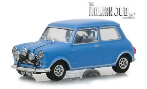 Austin Mini 1/43 Greenlight Cooper S 1275 MkI bleue RHD The Italian Job 1967 miniature