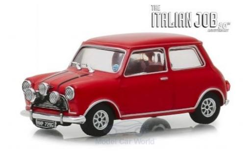 Austin Mini 1/43 Greenlight Cooper S 1275 MkI rouge RHD The Italian Job 1967 miniature