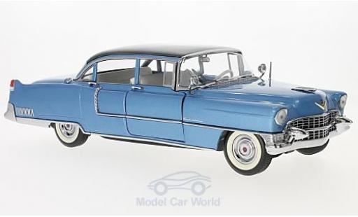 Cadillac Fleetwood 1/18 Greenlight Series 60 metallise bleue/noire Elvis Presley 1955 ohne Vitrine miniature