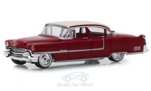 Cadillac Fleetwood 1/64 Greenlight Series 60 rouge/beige 1955 miniature