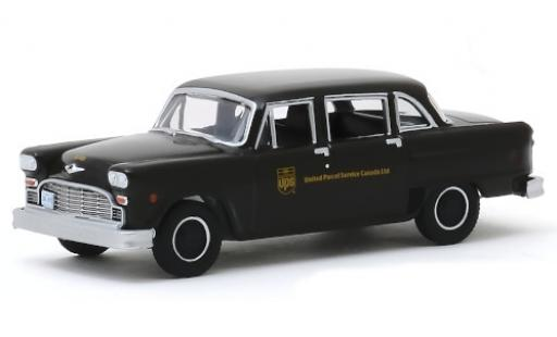 Checker Marathon 1/64 Greenlight (A11) marron UPS - United Parcel Service Canada Ltd. 1975 miniature