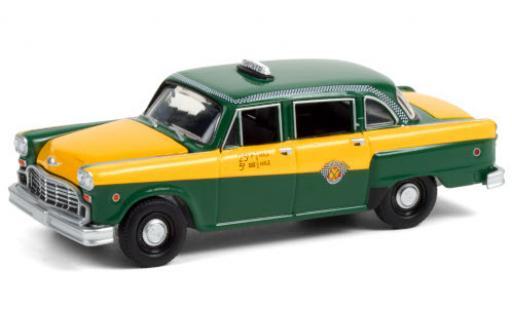 Checker Marathon 1/64 Greenlight A11 verte/jaune Special 1960 60 Years miniature