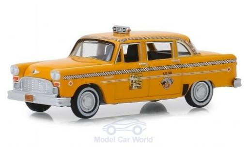 Checker Marathon 1/64 Greenlight A11 N.Y.C. Taxi 1981 miniatura