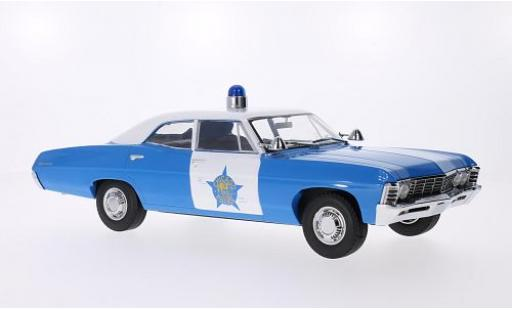 Chevrolet Biscayne 1/18 Greenlight Chicago Police Department 1967 Artisan Collection diecast model cars