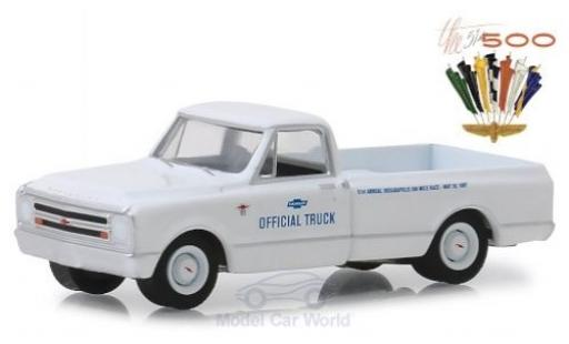 Chevrolet C-10 1/64 Greenlight 1967 51th Indianapolis 500 miniature