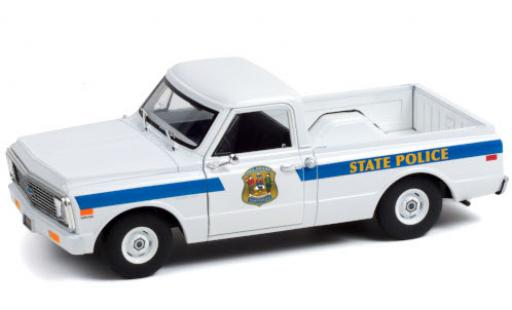 Chevrolet C-10 1/24 Greenlight Delaware State Police 1972 diecast model cars
