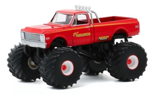 Chevrolet C-10 1/64 Greenlight Monster Truck Texas Tumbleweed 1972 modellautos