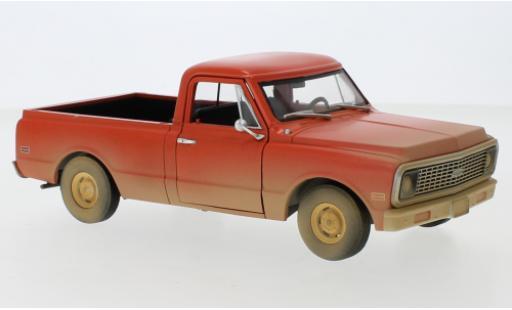 Chevrolet C-10 1/24 Greenlight orange 1971 Groundhog Day - ...und täglich grüßt das Murmeltier diecast model cars