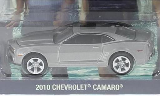 Chevrolet Camaro 1/64 Greenlight metallise grise Hawaii Five-0 2010 miniature