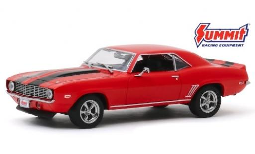 Chevrolet Camaro 1/43 Greenlight rouge/noire Summit Racing Equipment 1969 miniature