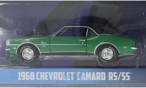 Chevrolet Camaro 1/64 Greenlight RS/SS verte/noire Turtle Wax 1968 miniature