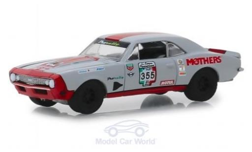 Chevrolet Camaro 1/64 Greenlight SS grey/orange No.355 La Carrera Panamericana 1967 diecast