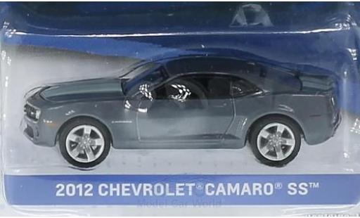 Chevrolet Camaro 1/64 Greenlight SS metallise grise/grise 2012 General Motors Series 1 ohne Vitrine miniature