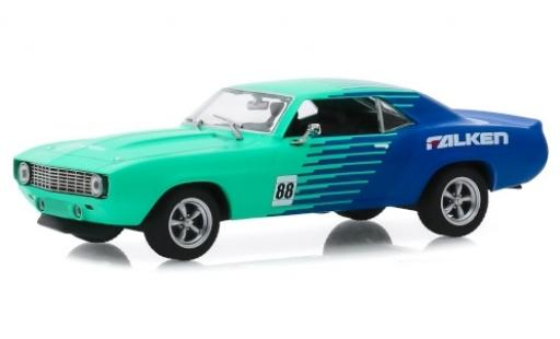 Chevrolet Camaro 1/43 Greenlight Tuning Falken 1969 No.88 modellautos