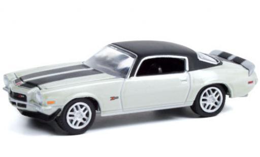 Chevrolet Camaro 1/64 Greenlight Z/28 Custom metallise grey/matt-black 1970 diecast model cars